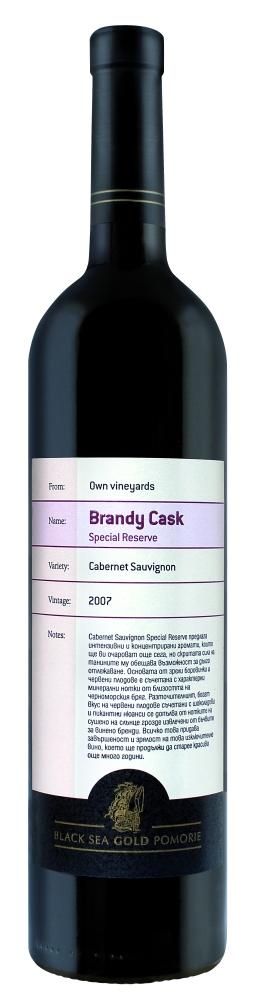 Brandy Cask Special Reserve Cabernet Sauvignon 2007