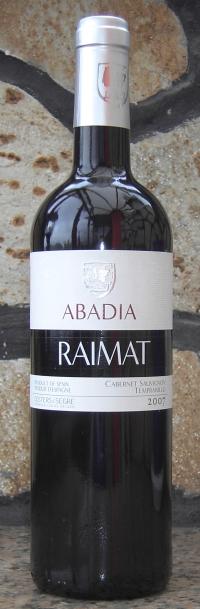 Raimat Abadia 2007