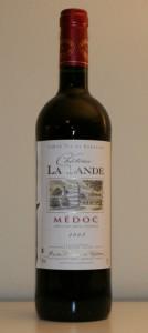 Chateau La Lande Medoc 2008